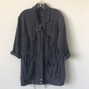 Club Monaco Silk Jacket